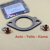 Auspuff Dichtung mit Kupfermutter für BMW Abgasanlage , Abgaskrümmer +Zement Set