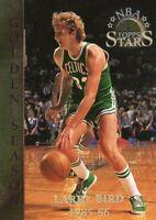 1996 TOPPS STARS BASKETBALL CARD # 58 - HOF LARRY BIRD - BOSTON CELTICS