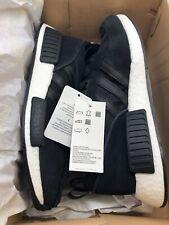 New Men's Adidas BOSTON SUPER x R1 NMD Triple Black Yeezy Run Size 8 EE3655