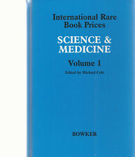 Science & Medicine International Book Prices Volume I Michael Cole 1987 Hc