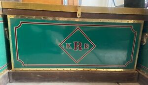 10 Custom Phoenix Tack Trunks. Panel can be ordered to put your own initials on.