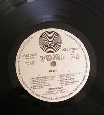 Status Quo Hello! LP Swirl Vertigo Italy
