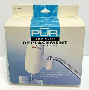 Pur Self Monitoring Water Filter Replacement New Sealed 2 Pack RF-1052 1994 Box