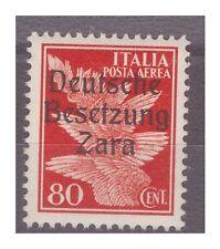 ZARA  1943  POSTA AEREA -  CENTESIMI 80  -  PRIMO  TIPO   NUOVO **