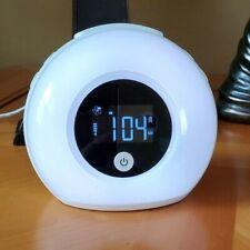 Table Lamp Alarm Clock, Bluetooth Speaker, Radio Alarm Clock
