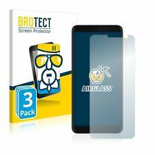 HTC U11 Plus , 3 x BROTECT® AirGlass® Premium Glass Screen Protector, Extra-Hard