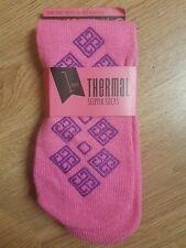 Womens Girls Thermal Slipper Socks Size 4-7 Ideal Christmas Gift Stocking Filler