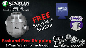 GM Chevy 12-Bolt Spartan Locker - 30 Spline - SL GM12-30 - w/ Koozie - Posi