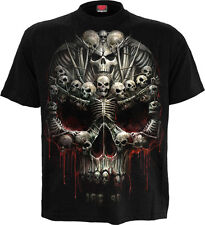 SPIRAL DIRECT DEATH BONES T Shirt, Death/Metal/Skull/Souls/Dark Deceased/ Tees