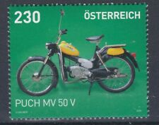 """NEUE Sondermarke mit dem Puch """"Postlermoped"""" MV 50 V"""