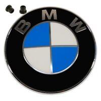 Original BMW Emblem Motorhaube 82mm mit Tüllen BMW 3er E30 vorne