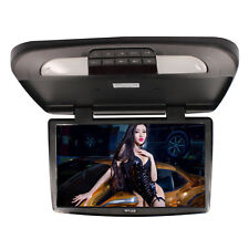 18.5 Inch TFT LCD Monitor Car Roof Mount Monitors Black