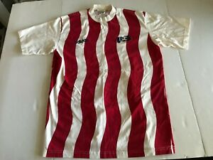 Vintage 1994 USA Soccer National Jersey Shirt Adidas Men's Size L World Cup Red