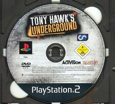 PS2 -Tony Hawk´s Underground !!! ohne Cover, ohne Anleitung !!!