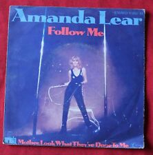 Amanda Lear, follow me / mother look what they've done to me, SP - 45 tours