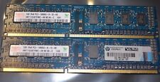 2 GB (2X1GB) DDR3 PC3-10600U 1333 MHZ NON ECC UNBUFFERED 240 PIN DESKTOP PC RAM