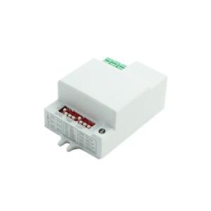 Microwave motion sensor motion detector adjustable universal IP20 360 701F