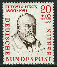 Germany-Berlin 9NB19,MNH. Ludwig Heck,Zoologist,Director of the Berlin Zoo, 1957