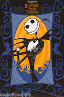 POSTER:MOVIE REPRO: THE NIGHTMARE BEFORE CHRISTMAS - JACK -  #8655 RP81 X