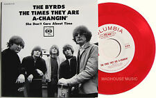 "THE BYRDS 7"" The Times They Are A-Changin' RECORD STORE Day Clear PINK VINYL New"