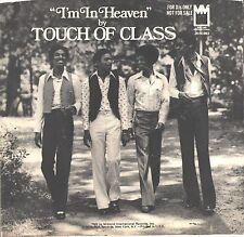 TOUCH OF CLASS--PICTURE SLEEVE + 45--(I'M IN HEAVEN)--PS--PIC--SLV