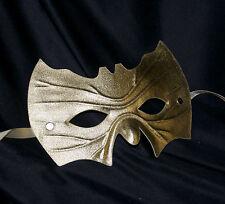 Gold Bat Shape Mask Super Hero Fancy Dress Masquerade Man Halloween Fancy Dress