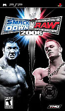 WWE SmackDown! vs RAW 2006 (PSP), Good Sony PSP,sony_psp Video Games