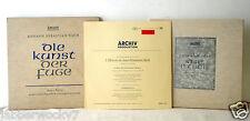 Lot of ARCHIV PRODUKTION 33 RPM Johann Sebastian Bach 198197