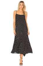NWT Vince $325 Tossed Ditsy Pleated Cami Dress; M