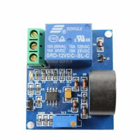 12 V Relay AC Current Detection Sensor Module Over Current Protection 5A