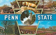 Pennsylvania~Multi-View Keytone Views @ State University~Stadium~ Mascot 1950s