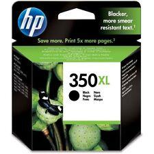 Genuine HP HEWLETT PACKARD HP 350XL Cartouche d'encre noire HP CB336EE CB336E HP
