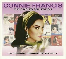 Connie Francis - The Singles Collection - Best Of / Greatest Hits 3CD NEW/SEALED