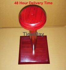 Wooden Display Stand For Helmet Excellent Quality NEW