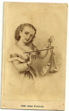 Baby weighs 9 pounds! CDV album filler birth scale announcement infant photo