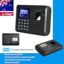 Time Recorder Clocking Attendance in USB clock Machine Fingerprint+Password