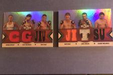 2013 Knockout Triple Threads Relic Book RONDA ROUSEY NICK DIAZ NATE DIAZ 10/36