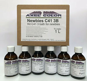 KIT C41 3 BATH FOR NEWBIES TO MAKE 1LT