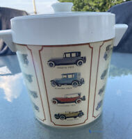 Vintage West Bend Thermo-Serv Ice Bucket Antique Cars