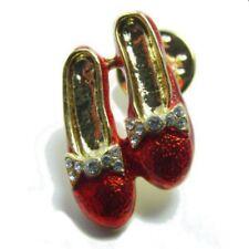 Ruby Slipper Lapel Pin or Tie Tack