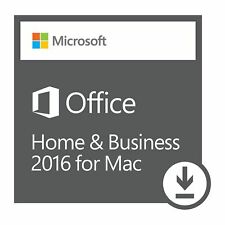 Microsoft Office 2016 Home and Business for MAC Lizenzschlüssel Office MAC Key