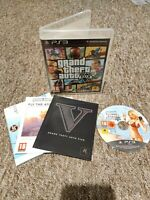 Grand Theft Auto V (GTA 5) - Sony PS3 Game - MANUAL & MAP! - FAST & FREE P&P!