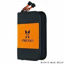 Daiwa Presso wallet ML C black 14cm x 20cm x 4cm PVC 8530105 4960652140386