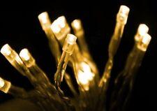 LED Lichterkette mit Batterie / Timer - 10 bis 80 LEDs - warmweiß oder kaltweiß