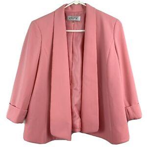 Kasper Long Sleeve Pink Blazer Size 6