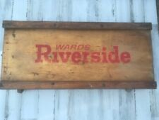 Vintage Ward Riverside Mechanic's Auto Creeper
