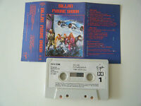GILLAN FUTURE SHOCK CASSETTE TAPE DEEP PURPLE 1981 PAPER LABEL VIRGIN TCV 2196