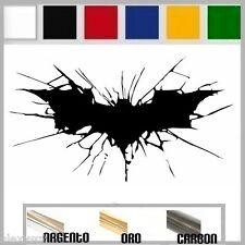 NUOVA Justice League Dark Knight GOTHAM Outlaw Nero Batman Logo Felpa Con Cappuccio Giacca