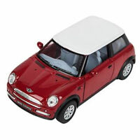 RI Novelty - Pull Back Die-Cast Metal Vehicle - MINI COOPER (Red)(5 inch) - New
