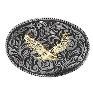 Vintage Eagle Metal Alloy Belt Buckles Unisex Western Buckle Cowboys Cowgirls!